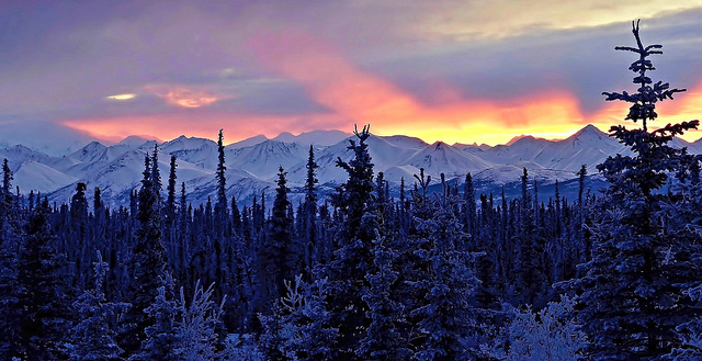 File:Alaska Sunset.jpg